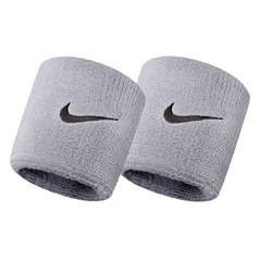 Nike Swoosh Wristbands Grey