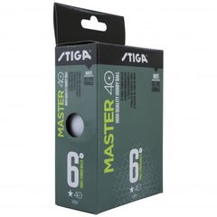 Stiga Ball Master ABS 1-star 6-pack White