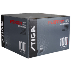 Stiga Perform 3-star ABS 100-pack White