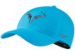 Nike Court AeroBill H86 Rafa Tennis Hat Light Blue