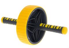 LiveUp Exercise Wheel 19 см Yellow-Black
