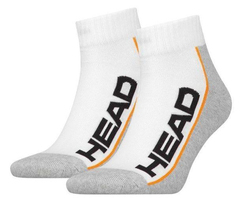 Head Performance Quarter 2-pack/white/grey
