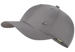 Nike Cap Metal Swoosh Gunsmoke