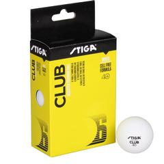 Stiga Ball Club Select White 6-Pack