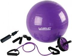 LiveUp Training Set Purple-Black