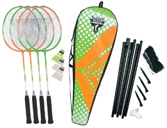 Talbot Torro Badminton Set 4 Attacker Plus