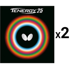 Butterfly Tenergy 25 x2