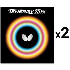 Butterfly Tenergy 25 FX x2