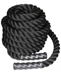 LiveUp Battle Rope 12м Black