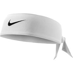 Nike Dri-Fit Head Tie Headband White