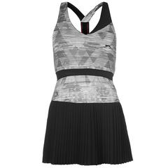 Футболка Slazenger Slam Tennis Dress Graphite