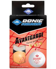 Donic Avantgarde 3* 40+ Orange 6pcs