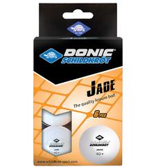 Donic Jade ball 40+ White 6pcs