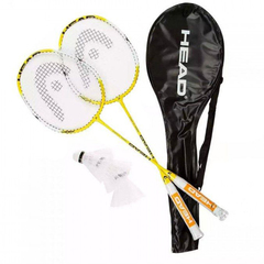 Head Nano Ti.Elite 2 badminton set (2 ракетки, 3 волана)