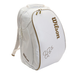 Wilson Federer DNA Backpack White/Gold New 2019