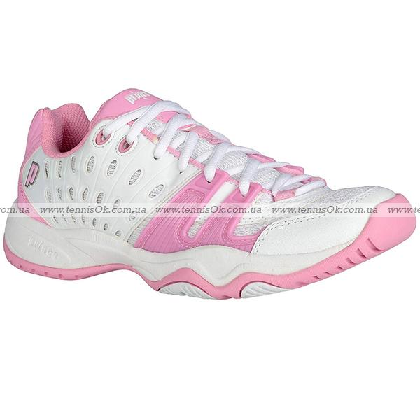 48c14428 Prince T22 Junior White/Pink - купить кроссовки Babolat - теннисный ...