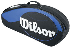 Wilson Match 3PK Bag Blue