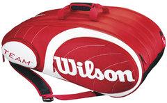 Wilson Team 12PK Bag RD/WH