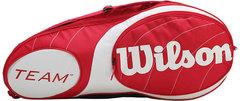 Wilson Team 3PK Bag RD/WH