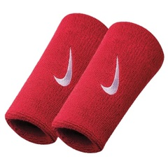 Nike Swoosh Double Wide Wristband Red NNN05101OS