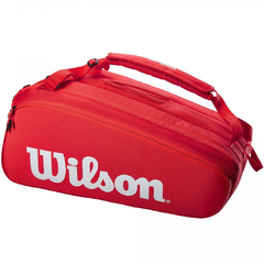 Wilson Super Tour 15 Pk Pro Staff Bag Red