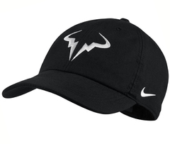 Nike Court AeroBill H86 Rafa Tennis Hat Black / White