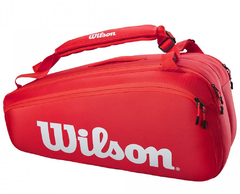 Wilson Super Tour 9 Pack Bag Red