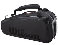 Wilson Super Tour 15 Pk Pro Staff Bag Black