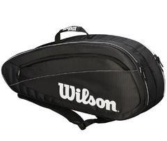 Wilson Fed Team 6 Pk Bag black/white