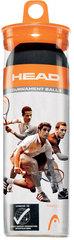 Head Tournament Squash Ball 3pcs