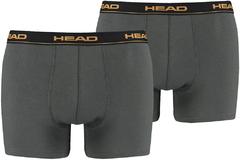 Труси Head Basic Boxer 2P Dark Grey