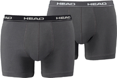 Трусы Head Basic Boxer 2P Grey