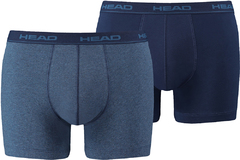 Трусы Head Basic Boxer 2P Blue/Dark Blue