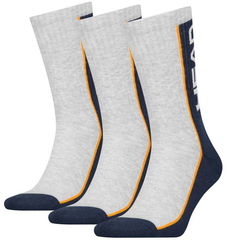 Head Performance Crew 3P Blue/Grey/Orange
