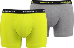 Трусы Head Basic Boxer 2P Lime/Grey