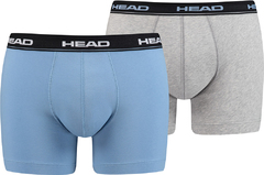 Трусы Head Basic Boxer 2P Blue/Grey