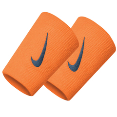 Nike Swoosh Double Wide Wristband Orange N0001586837OS