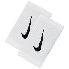 Nike Reveal Doublewide Dry Wristbands White NNNJ1114OS