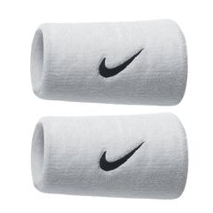 Nike Swoosh Double Wide Wristband White NNN05101OS