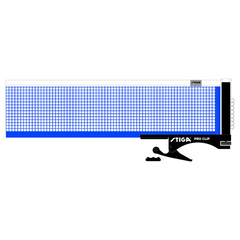 Stiga Pro Clip Table Tennis Net & Post