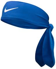 Nike Dri Fit Head Tie 3.0 Game Royal / White