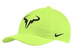 Nike Court AeroBill H86 Rafa Tennis Hat Yellow