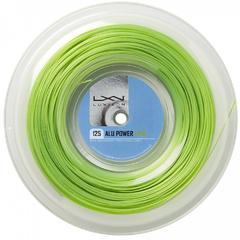 Luxilon Alu Power Reel Lime Green 200m