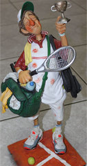 Сувенир теннисист-чемпион