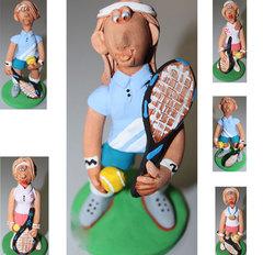 Сувенир теннисист