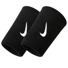 Nike Swoosh Double Wide Wristband Black nnn05416os-416