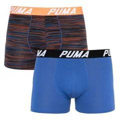 Трусы Puma Bold Stripe Boxer 2-pack Blue/Red