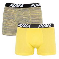 Трусы Puma Bold Stripe Boxer 2-pack Gray/White