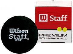Wilson Staff Squash Ball Double Yellow Dot